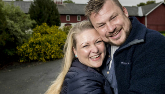 «Jakten»-paret venter sitt første barn sammen