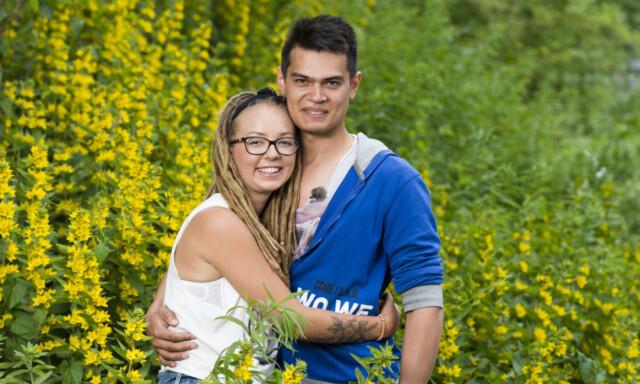 ea835378 BLIR GÅRDSEIERE: Beatrice Fjell og Fredrik Fjeld fant hverandre i «Jakten  på kjærligheten»