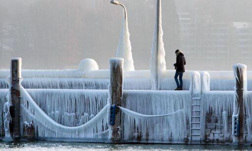 image: - Med temperaturer som dette, kan folk fryse i hjel midt på dagen