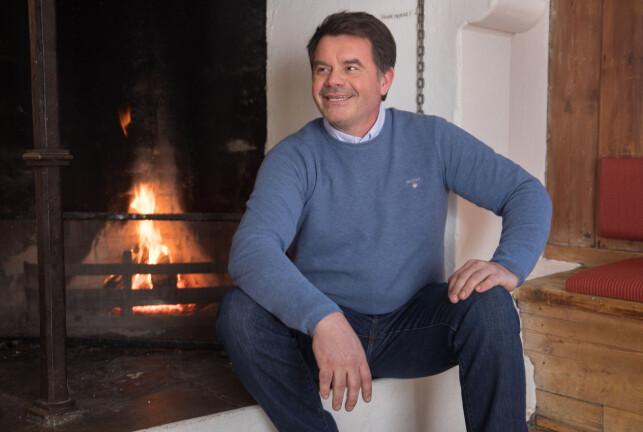 «JAKTEN PÅ KJÆRLIGHETEN» 2018: Ole Einar Hovrud forklarer at han har det meste her i livet, foruten noen å dele livet med. Nå håper han at han treffer jenta som kan dra han bort fra jobben for å finne på andre ting. Foto: Espen Solli/ TV 2