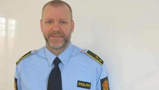 <strong>- TIPS OSS:</strong> Rune Skjold oppfordrer publikum til å tipse politiet ved mistanke om omsetning av stjålet kjøtt. Foto: Jørn-Kr. Jørgensen, Oslo politidistrikt