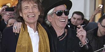 image: Keith Richards så godt som tørrlagt