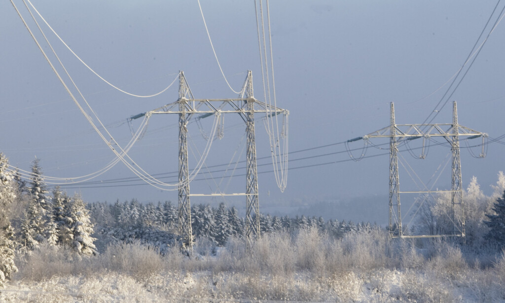 OPPSVING: Kulde kombinert med lavere strømimport og høyere energiforbruk har ført til kraftig oppgang i strømprisen. Foto: NTB Scanpix