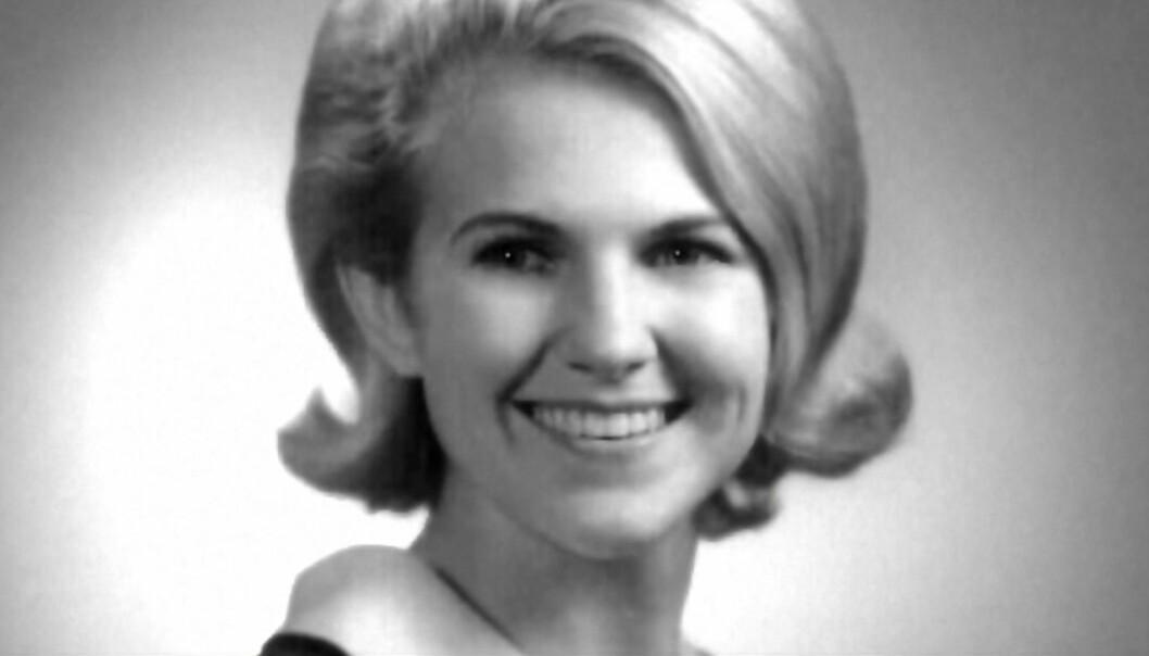DREPTE KONA: Kathleen Frances «Kathy» Leissner hadde vært gift med Charles Whitman i fire år før han drepte henne natt til 1. august 1966. Foto: Skjermdump fra Dplay