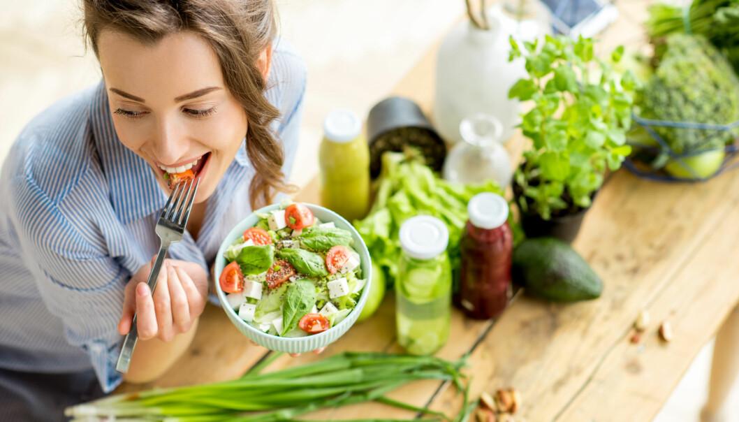 SUNT: Det er ikke vekta alene som avgjør om du er sunn eller ikke. FOTO: NTB Scanpix