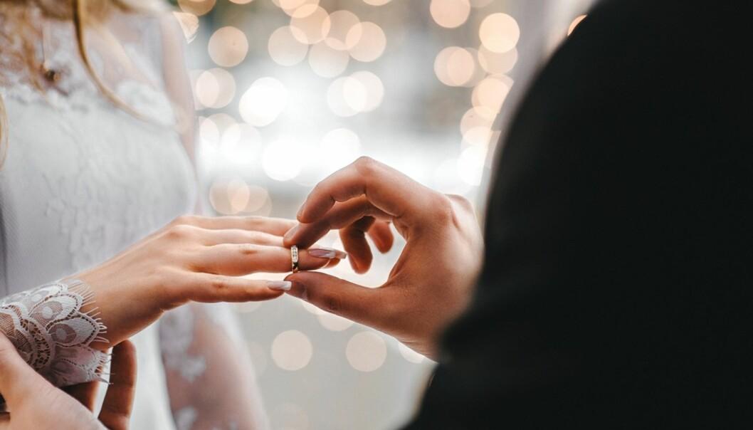 VIKTIG DAG: Bryllupsdagen er en stor dag, og vi vil den skal bli perfekt. FOTO: NTB Scanpix