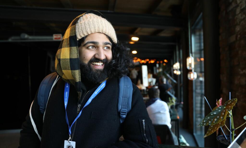 I PANELET: Anmelder i VG Sandeep Singh Foto: Christian Roth Christensen / Dagbladet