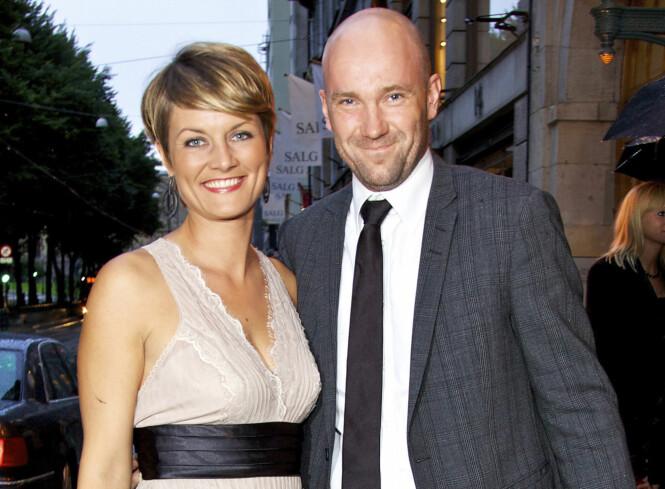 KOMIKERPAR: Pernille Sørensen er gift med komiker Dagfinn Lyngbø. Her fra 2015. Foto: Se og Hør.