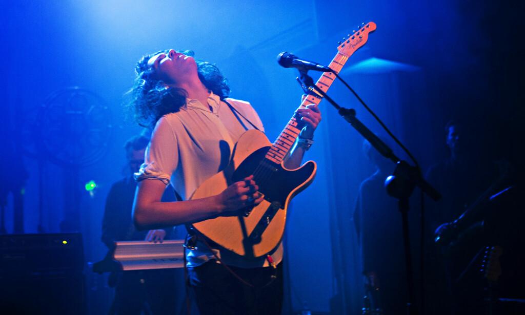 GITARHELT: Helt på tampen våknet gitarhelten i Fay Wildhagen.