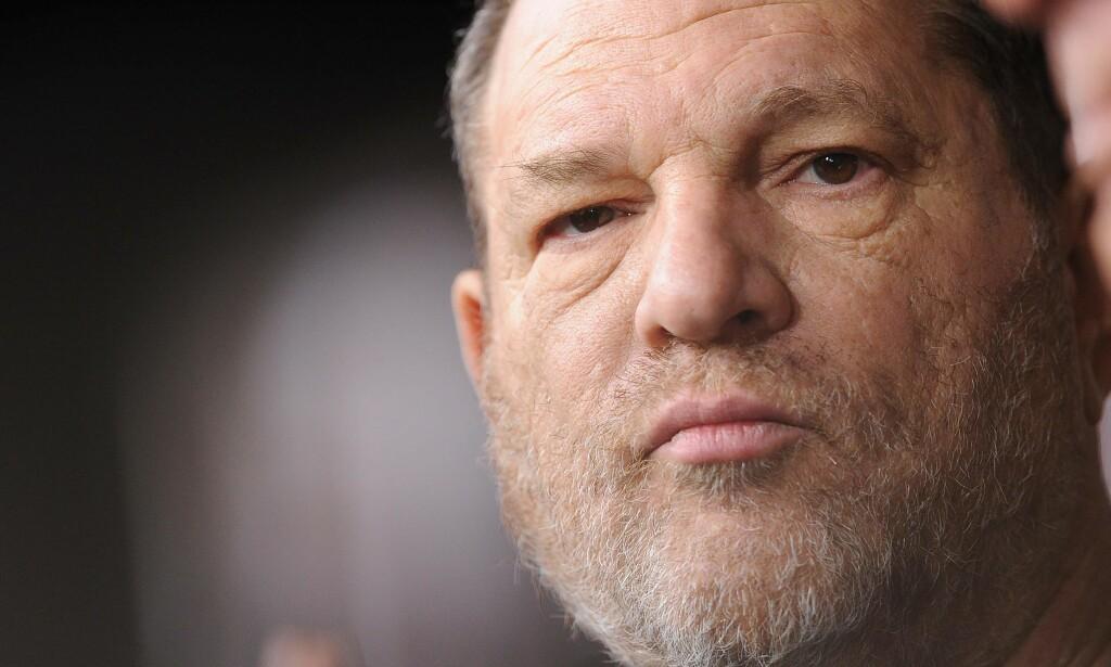 STÅR OVERFOR STRAFFEFORFØLGELSE: Tidligere filmprodusent Harvey Weinstein er etterforsket av politiet i New York for seksuelle overgrep. Foto: NTB Scanpix