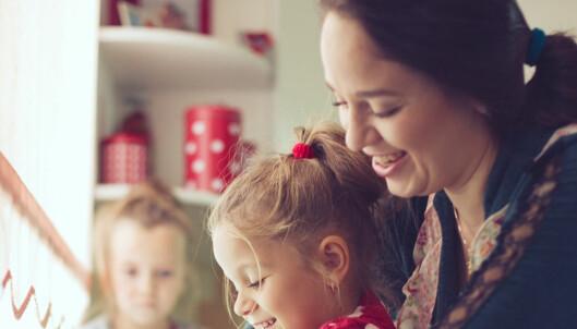 Hjemme med småbarn? Du kan tjene pensjon om du oppfyller disse kravene