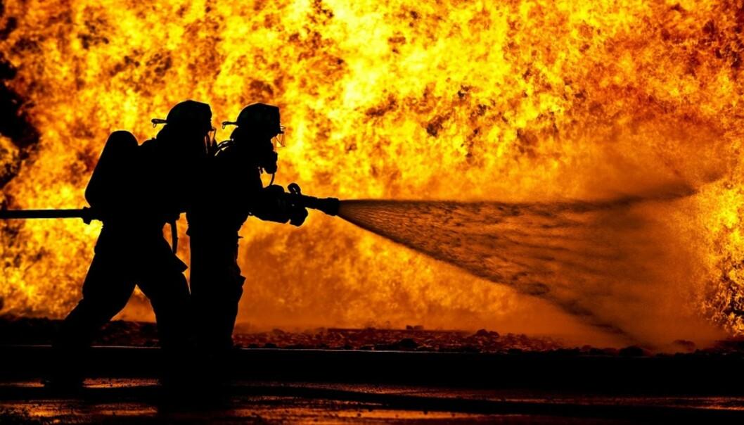 Halvparten av alle dødsbranner skjer i boliger som ikke har fungerende røykvarslere. Foto: Verisure