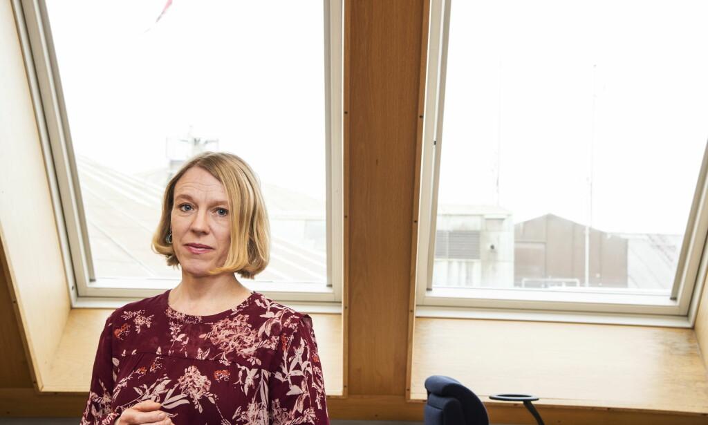 THE SKY IS THE LIMIT: Anniken Huitfeldt (Ap) sier kampen mot seksuell trakassering og for likestilling må tas ut i distriktene. Hun vil hjelpe flere kvinnelige politikere komme opp og fram.  Foto: Hans Arne Vedlog / Dagbladet
