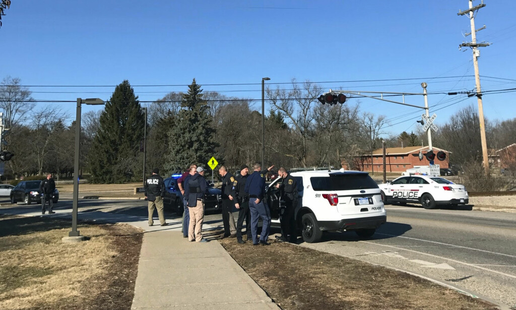 SKOLESKYTING: Flere skal være drept etter skyting ved universitetet i Michigan. Foto: Lisa Yanick Litwiller /The Morning Sun/AP