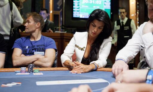 DELTOK I NM: Aylar Lie var blant deltakerne i NM i poker 2011 i Riga. Foto: Tore Meek / NTB Scanpix