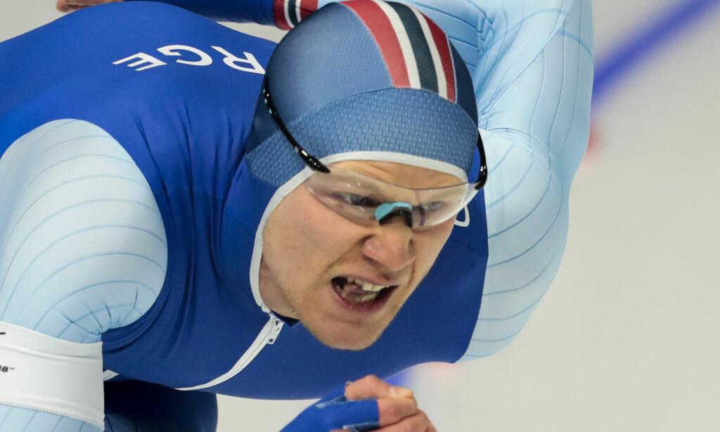 HISTORISK: Håvard Holmefjord Lorentzen ble Norges første sprintverdensmester siden 1981. Foto: Lise Åserud / NTB scanpix