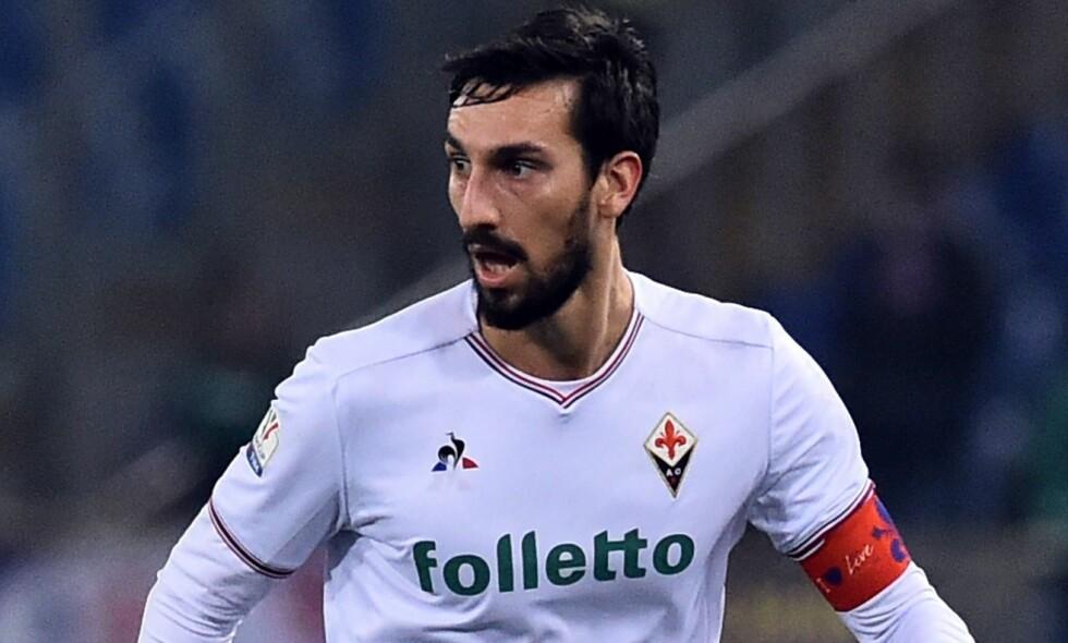 DØD: Fiorentina-kaptein Davide Astori er død. Han ble 31 år gammel. Foto: Shutterstock / NTB Scanpix