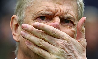 I HARDT VÆR: Arsenal-manager Arsene Wenger. Foto: Kieran McManus / BPI / REX / Shutterstock.