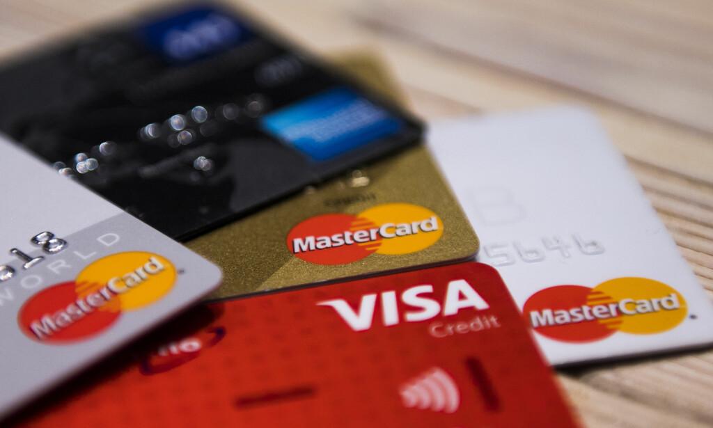 PUSHER: Det er de samme kredittselskapene som i dag pusher forbrukslån og kort ut i rekordtempo, som nekter å dele ansvaret når lånefesten blir litt vel stor, skriver Beate Engelschøin. Foto: Jon Olav Nesvold / NTB scanpix