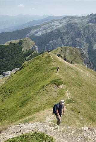 FLOTT NATUR: Montenegro byr op mye dramatisk natur - perfekt for fotturer. Foto: Ida Anett Danielsen / Magasinet Reiselyst