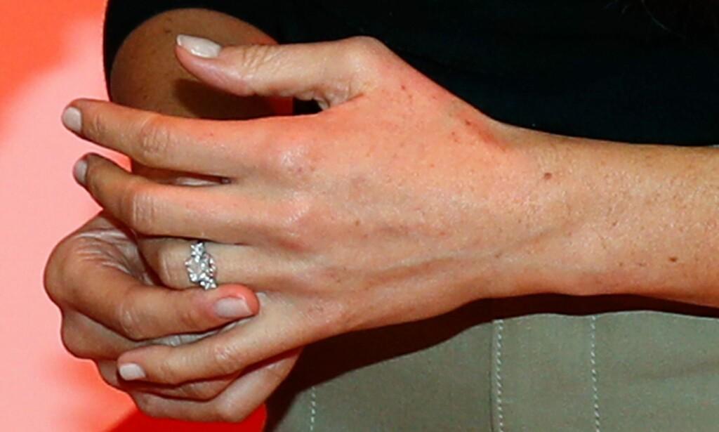 HEDRER DIANA: Prins Harry hedrer sin avdøde mor med forlovelsesringen han har gitt til Meghan Markle. Foto: NTB Scanpix