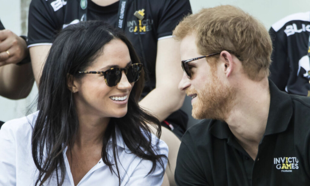 VISTE SEG SAMMEN: Meghan og Harry viste seg sammen for første gang under Invictus Games tidligere i fjor. Foto: Pa Photos