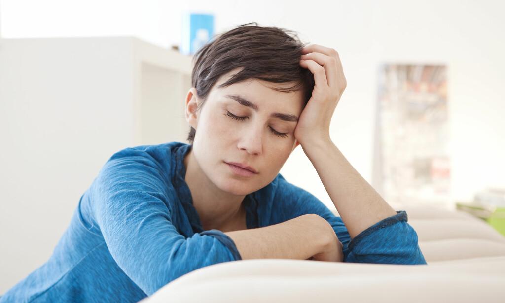 VEDVARENDE TRETTHET: Mange kreftpasienter blir rammet av fatigue etter at de er ferdigbehandlet. Foto: NTB Scanpix / Shutterstock