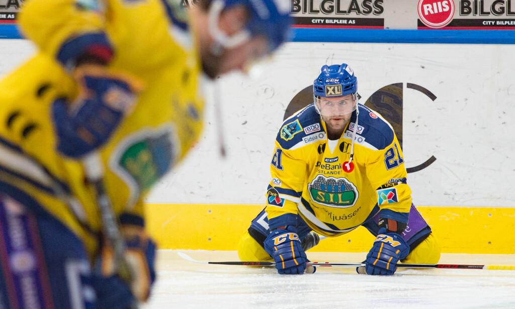 VANT: Storhamar og Lillehammer vant sine kamper og begge er én seier unna å ta seg til semifinalen i NM-sluttspillet i ishockey, mens Frisk tok seg av Stavanger.  Foto: Fredrik Hagen / NTB scanpix