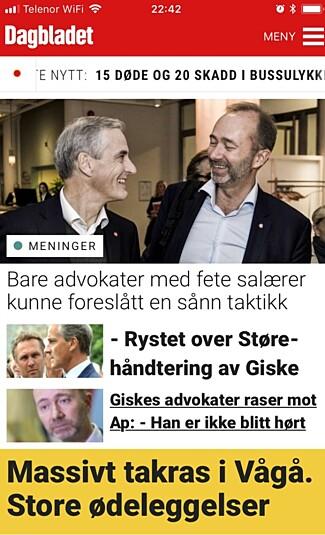 image: Historisk jubelår for Dagbladet
