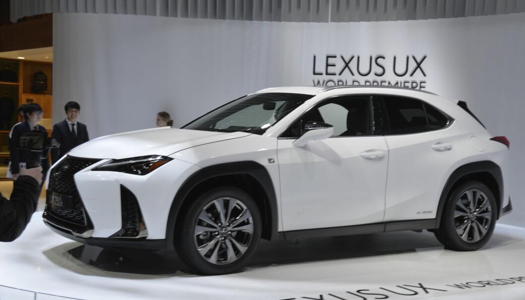 <strong>NY SUV:</strong> Lexus UX er et nytt tilskudd fra Toyotas premiummerke. Foto: Jamieson Pothecary
