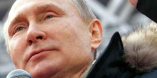 image: Men vi hyller selveste PUTIN fordi han er Kreml de la Kreml
