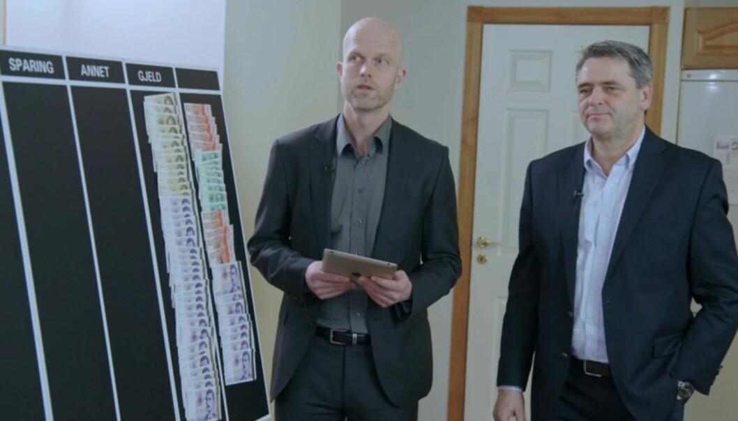 <strong>ENORM GJELD:</strong> Tin og Tuns gjeld er den høyeste i «Luksusfellens» historie. Foto: TV3