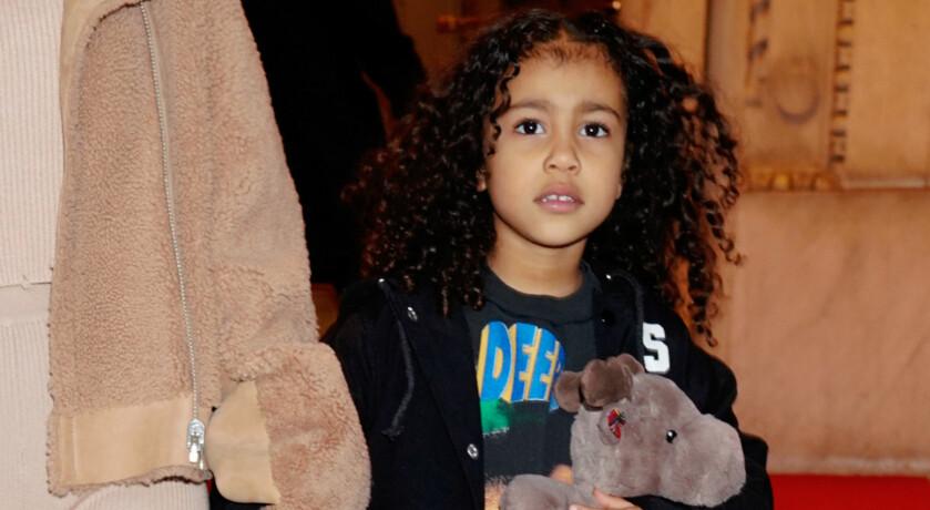 FØRSTE DATTER: North West er Kim og Kanye sin første datter. Hun har nå en yngre bror og en yngre søster. Foto: NTB Scanpix