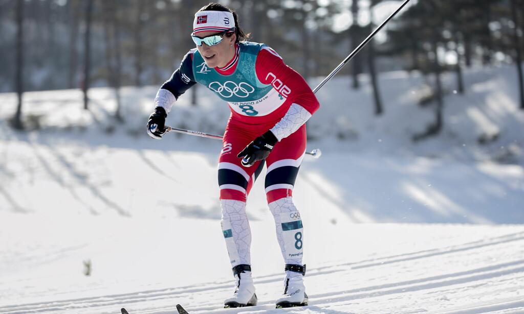 HVILER: Marit Bjørgen og Kathrine Harsem stiller ikke til start på verdenscupsprinten i Drammen onsdag. Det bekrefter Norges Skiforbund i en melding dagen før rennet.    Foto: Bjørn Langsem / Dagbladet