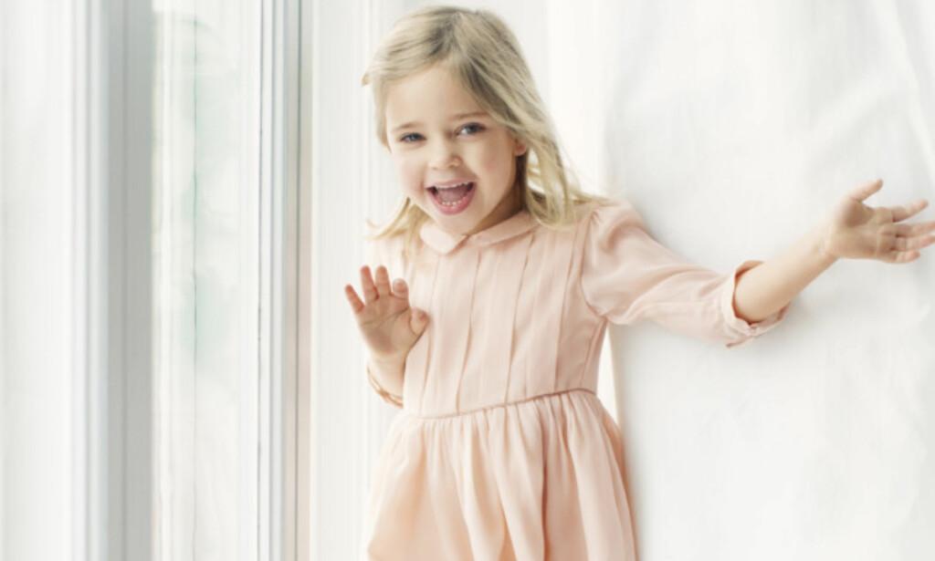 NYE BILDER: I anledning 4-årsdagen til prinsesse Leonore har det svenske kongehuset frigitt nye bilder av den skjønne prinsessen. Foto: Erika Gerdemark/ Det svenske kongehuset