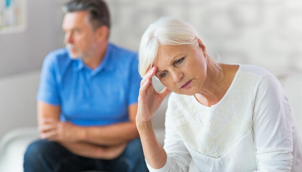 <strong>SLUTT:</strong> -Etter et liv hvor dagene fylles med yrkesliv, selvrealisering og aktiviteter med venner vil en kunne være lengre fra hverandre følelsesmessig enn før, mener familieterapeut. Foto: Scanpix.