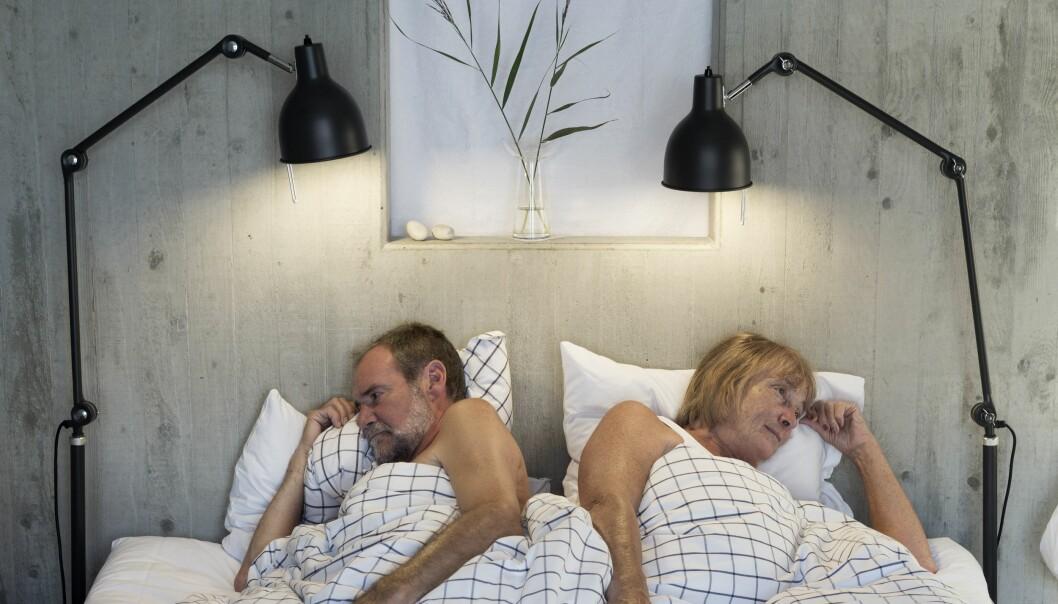 LABERT? Det kan være mange grunner til at sexlysten på hverandre daler med alderen, men én er helt åpenbar - og den må dere selv ta ansvar for. Foto: Scanpix.