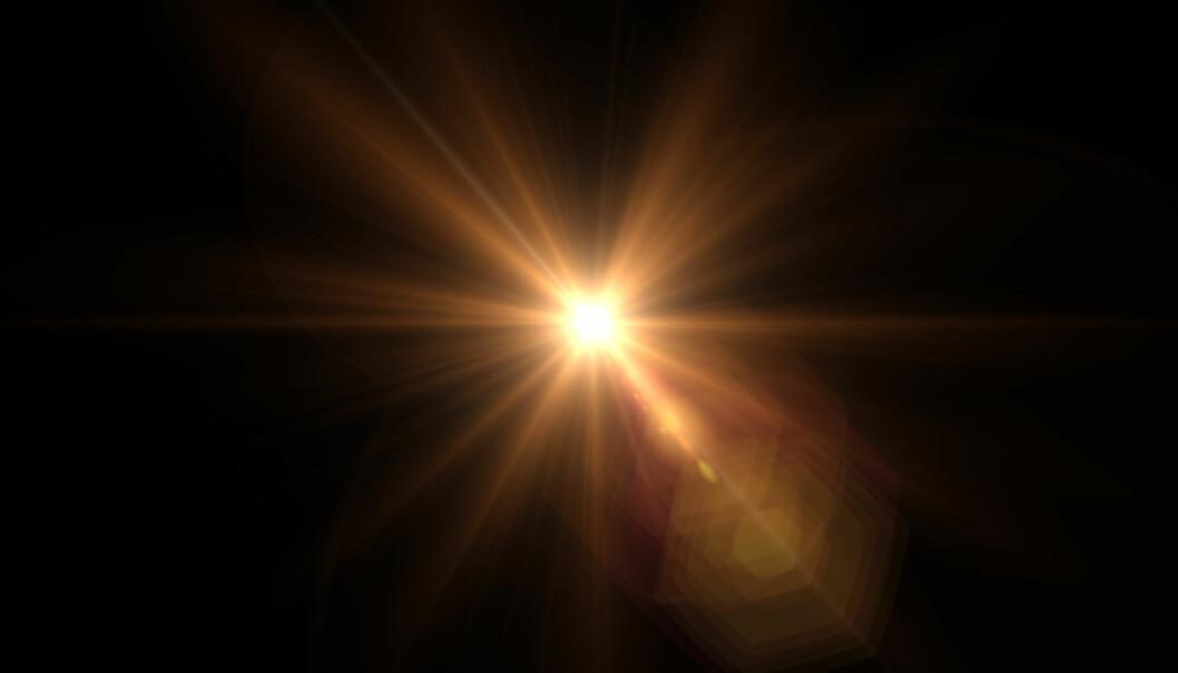 LYS I TUNNELEN: Noen pasienter husket et skarpt lys, lik solskinn, da de hadde en nær-døden-opplevelse. Foto: Scanpix.