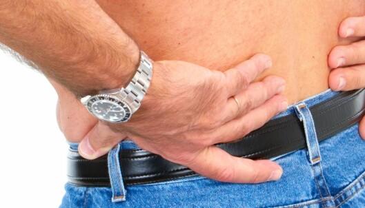 60-åringer er mindre plaget av ryggplager enn 40-åringer
