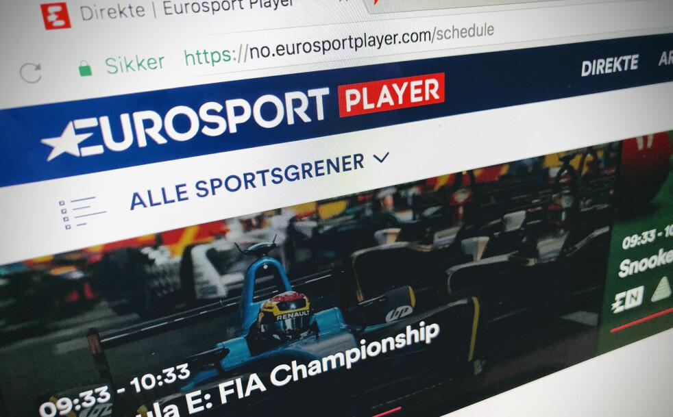 <strong>OL ER FERDIG:</strong> Eurosport kan blant annet friste med Tippe- og OBOS-ligaen videre, men om du bare registrerte deg for å se OL, begynner snart abonnementet å tikke videre. Foto: Pål Joakim Pollen