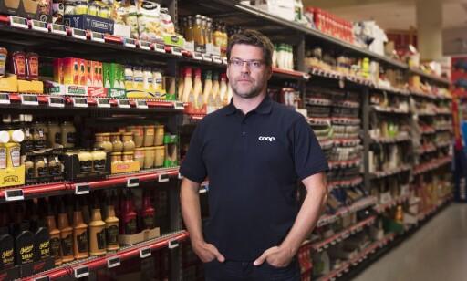 KJØTTSVINN: Kommunikasjonssjef i Coop Norge, Harald Kristiansen, tror kjøtt-tyveriene er organiserte. Foto: Coop