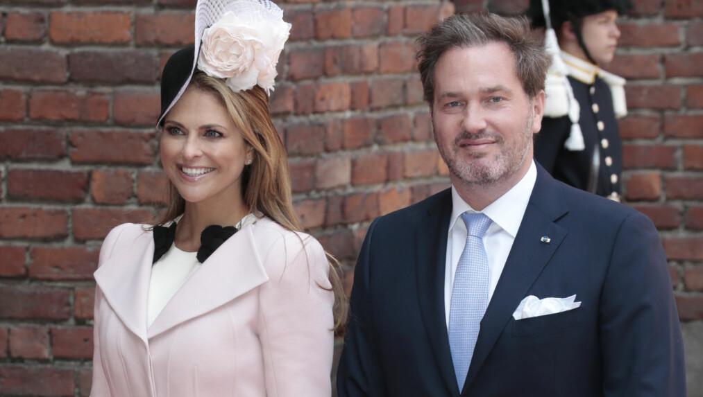 <strong>SNART TREBARNSFORELDRE:</strong> Ankomsten til prinsesse Madeleine og Chris O'Neills tredje barn er rett rundt hjørnet. Men hva skal barnet hete? Foto: Lise Åserud / NTB scanpix