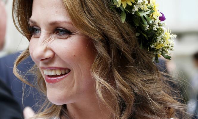 <strong>LOUISE:</strong> Kanskje får det nye familiemedlemmet navnet Louise, som vår egen prinsesse Märtha Louise. Foto: Lise Åserud / NTB scanpix