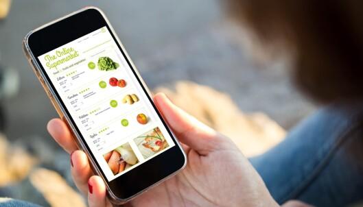 Her kan du handle mat på nettet
