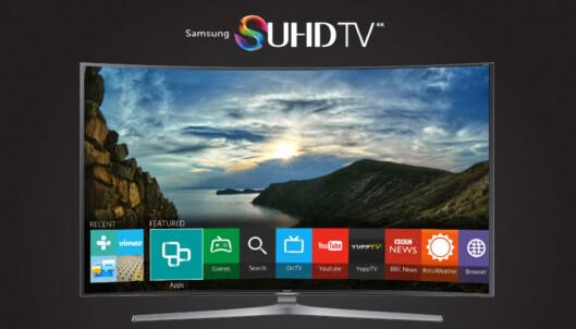 TIZEN: Samsung sin Tizen-modell er ett av alternativene når det gjelder brukervennlig TV. Foto: Samsung