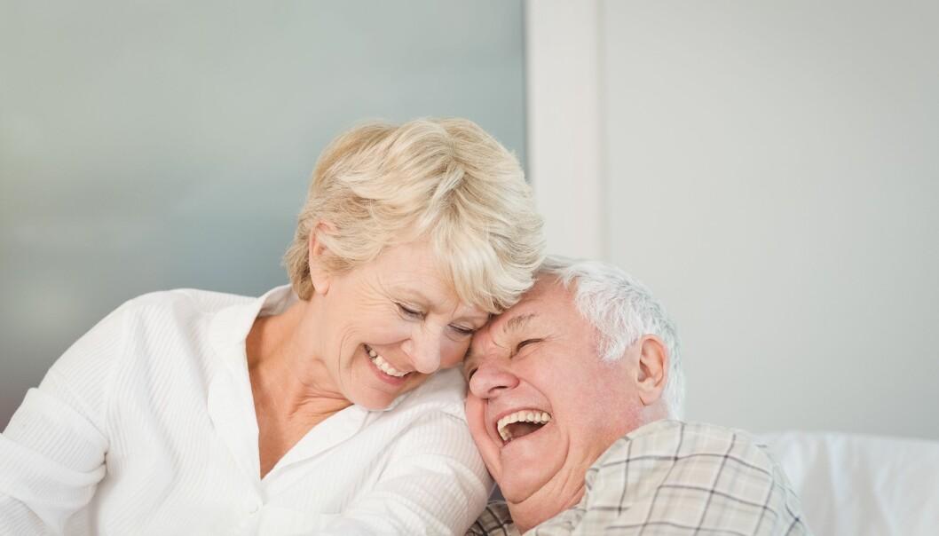 <strong>LYKKELIG ALDERDOM:</strong> Tidspunktet du velger å ta ut pensjonen din, har stor betydning for pensjonstilværelsen. Foto: Scanpix.