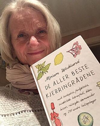 <strong>LIDENSKAP:</strong> Journalist og forfatter Miriam Wicklund har gitt ut ti bøker om kjerringråd. Hun er altså over gjennomsnittet opptatt av temaet. Foto: Privat.