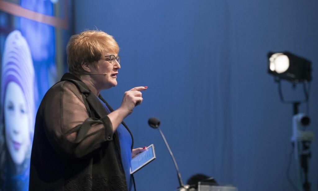 Kulturminister: Trine Skei Grande. Foto: Foto: Pedersen, Terje
