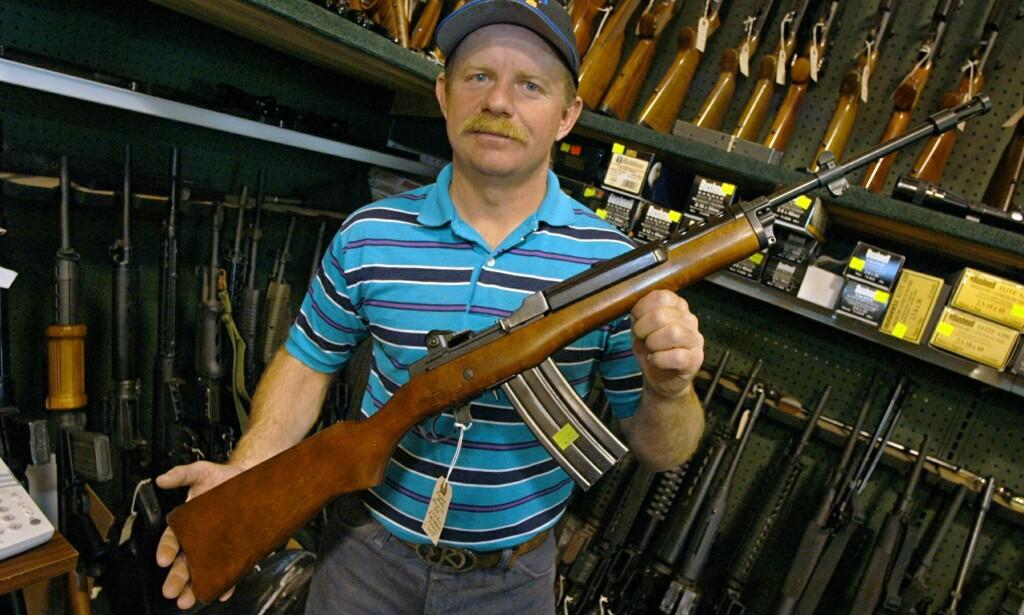 «Breivik-riflen» forbys - våpenkontroll skal fortsatt ...