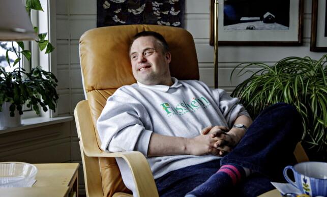 TETTE BÅND: Hans Korsgaard hadde et nært forhold til faren sin, og tenker ofte på ham. Foto: Nina Hansen / Dagbladet